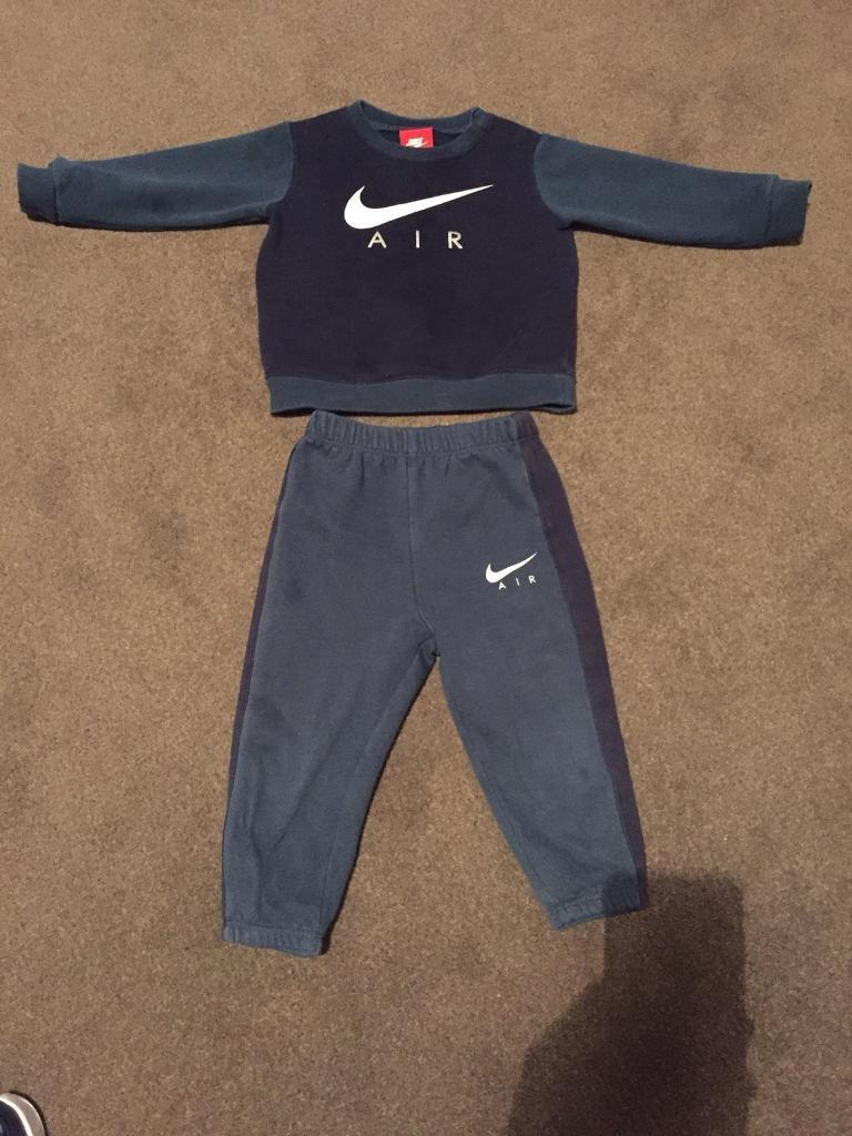 12 to 18 months Nike tracksuit