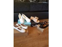 Lots of clothes for sale all brand new shoes dresses some from ax paris and love triangle