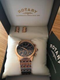 Men's Rotary watch! 2 years warranty! New!