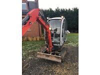 Neuson 1503 1.5 Tonne Digger Excavator inc 3 buckets NO VAT