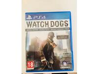 Watchdogs PS4 game brand new