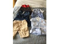 Great Quality Baby Boy Clothes 3-6 months, 60 items
