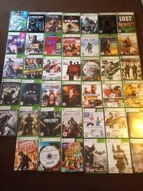 X box 360 4gb. 42 games, kinnect, one controller and all leads.