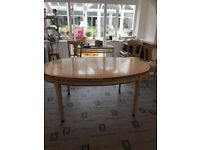 Grange extending dining table & 10 chairs