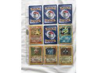 Pokemon Cards - Base, Jungle, Fossil, Rocket INCOMPLETE SETS