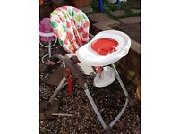 My child pippin apples high chair