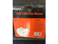 Portable electric heater.