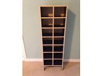 Shelved Storage/Display Unit - Beech & Blue