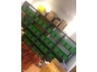 Warehouse Shelving Racks - 40 FREE PICKING BOXES