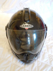 CABERG Crash Helmet - Black - Size XS