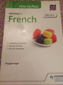 SQA Endorsed Hodder Gibson How to Pass National 5 French