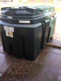 Oil tank 1800 litre bunded tank others available