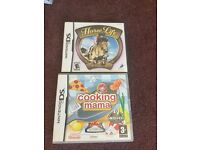 Nintendo Ds Games (Cooking Mama and Horse Life)