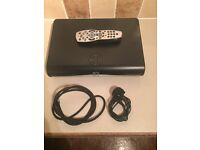 AMSTRAD SKY+ HD BOX WITH HDMI CABLE AND REMOTE