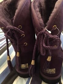 Brand New Size 5 (38) Hoe Winter warm furry boots