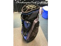 BENROSS 14 WAY CART BAG. AVERAGE CONDITION