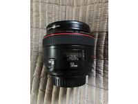 Canon EF lens 50 mm 1.2