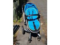 Silver Cross Surf 2 Pram/Pushchair and Surf board