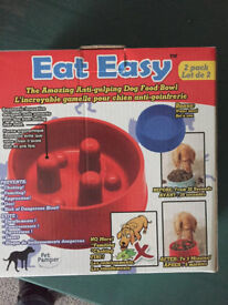 Eat-Easy - the amazing anti-gulping dog food bowl!