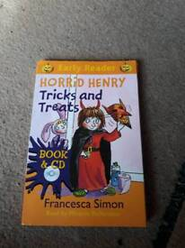 Horrid henry audio CD n book