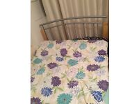 double bed and matress in great condition