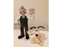 Limited Edition Wallace and Gromit figurines