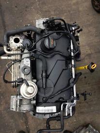 VW TOURAN,GOLF,AUDI,SEAT,SKODA OCTOVIA 1.9 TDI ENGINE (BKC)