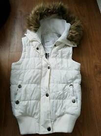 White jacket size 8