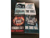 Set of 2nd Hand Paperback Robert Muchamore Books