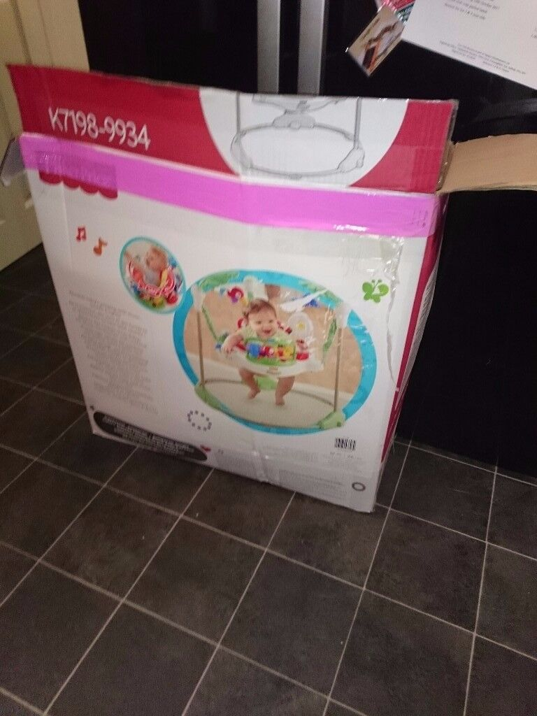 Jumperoo excellent condition with packaging from clean , pet free, non smoking home