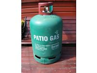 Calor gas bottle - Patio gas bottle used - Empty 13kg