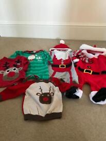 Christmas clothes 3-6 months