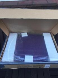 *New boxed* Purple glitter toilet seat