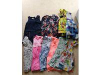 Age 4/5 girl dresses and clothes bundle next m&s George tu mini boden
