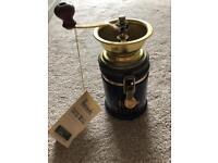 Harrods Coffee grinder, vintage