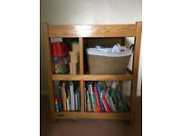 Solid Oak Mamas and Papas Changing Table
