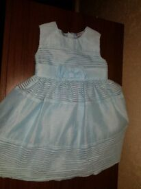 Blue girls dress