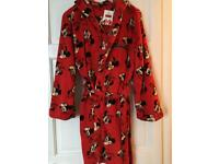 New Mickey Mouse Dressing Gown