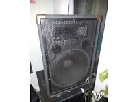 MACH TX15 PA/DJ SPEAKERS: 1 Complete set of speakers