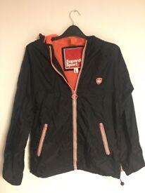 Superdry lightweight rain coat