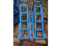Car ramps. Now surplus to requirements