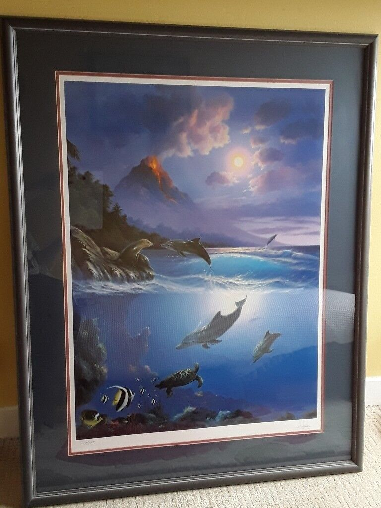 Limited Edition Lithograph By A. Casay