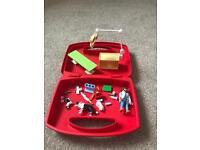 Playmobil vets carry case set