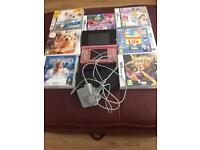 Nintendo 3Ds with seven games and charger
