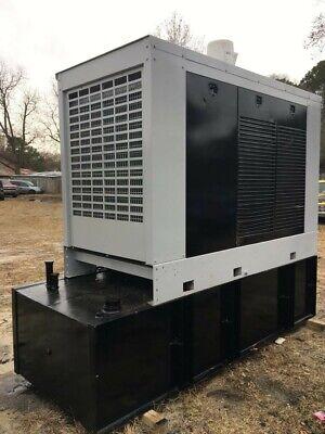 Used 275 Kw Spectrum Detroit Diesel Generator With Fuel Tank 1800 Hours