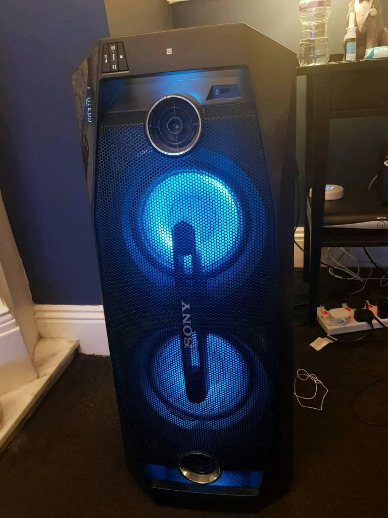 Sony GTK-X1BT bluetooth speaker for sale