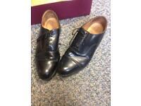 Men's Grenson Black Leather Shoes Size 10