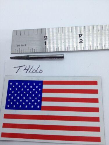 "1 NEW FALCON / SGS 1/8"" SHANK CARBIDE BURR SL-42 DOUBLE CUT. FINE USA BUR (T466)"