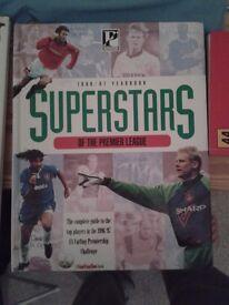 Football year books 1996-1997 & 1998-1999