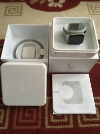 Apple Watch HERMES STAINLESS STEAL 42mm mint warranty March 2019
